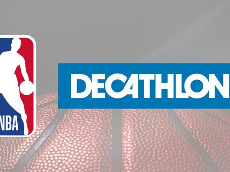 Decathlon podpisuje międzynarodową umowę z NBA