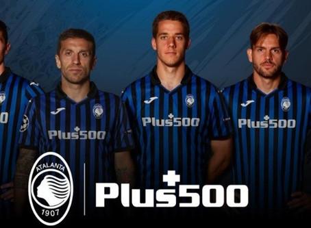 Plus500 nowym sponsorem Atalanty Bergamo