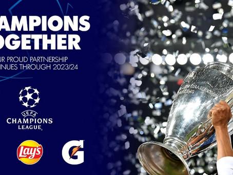 PepsiCo przedłuża współpracę z Ligą Mistrzów UEFA do 2024 roku
