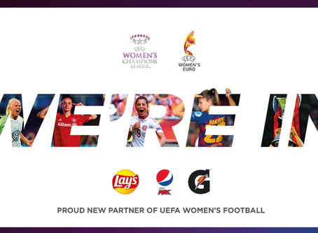 PepsiCo sponsorować będzie piłkę nożną kobiet