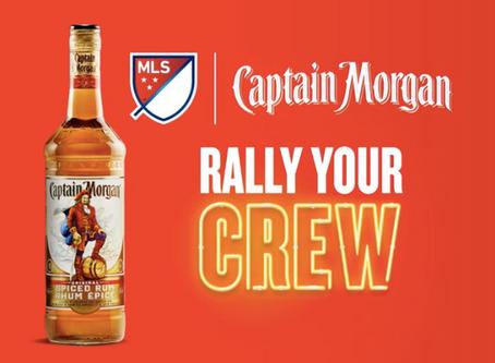 Captain Morgan podpisał nową umowę z MLS