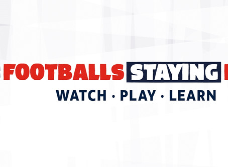 FA rozpoczyna kampanię Football's Staying Home