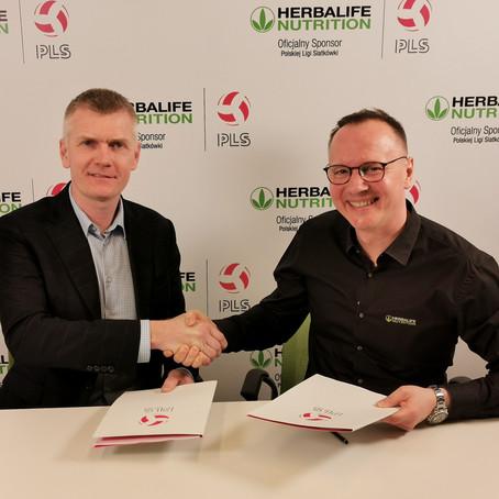 Herbalife Sponsorem Polskiej Ligi Siatkówki