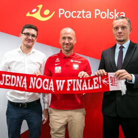 Poczta Polska kolejny rok razem z Reprezentacją Polski Amp Futbol.