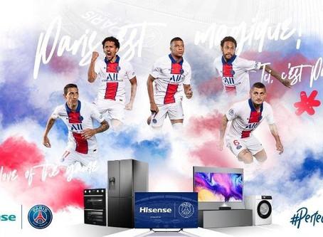 Paris Saint-German podpisuje wieloletni kontrakt z Hisense