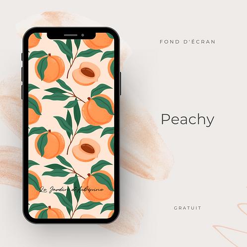 Fond d'écran téléphone - Peachy