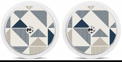 2 Capteurs Freestyle Libre - Geometric