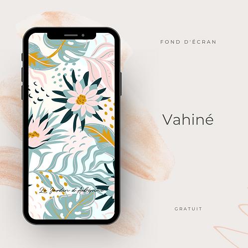 Fond d'écran téléphone - Vahiné