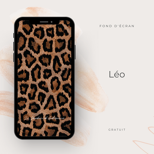 Fond d'écran téléphone - Léo