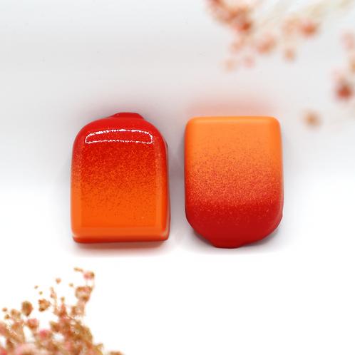 Coque POD - Orange Sanguine