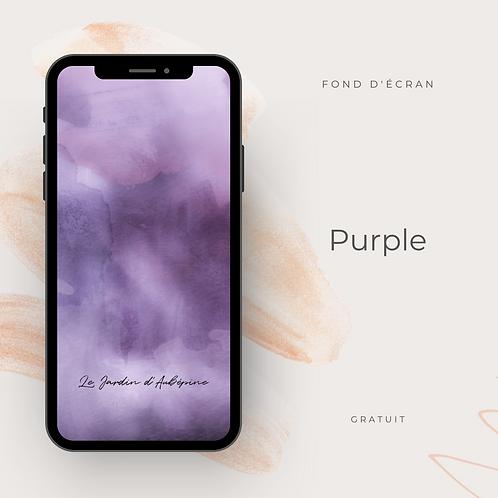 Fond d'écran téléphone - Purple