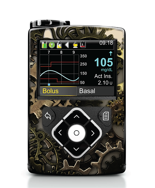 MiniMed 640G / 780G - Engrenages