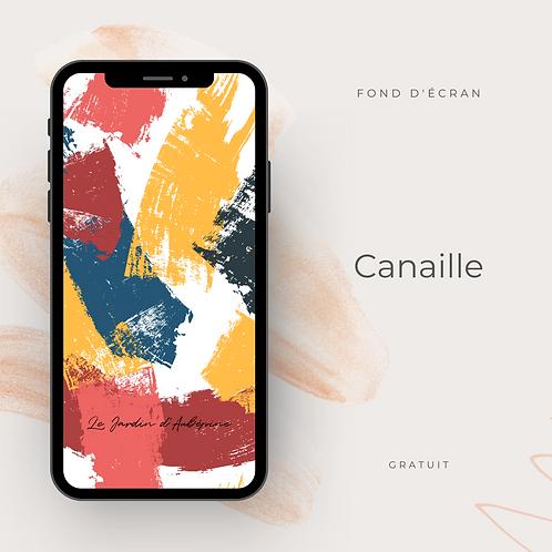 Fond d'écran téléphone - Canaille