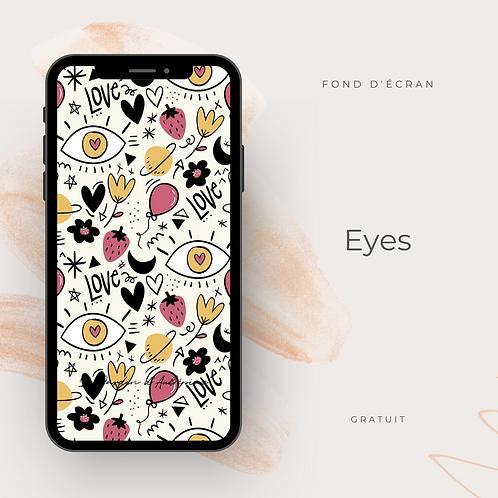 Fond d'écran téléphone - Eyes