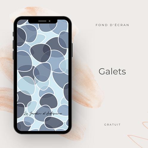 Fond d'écran téléphone - Galets