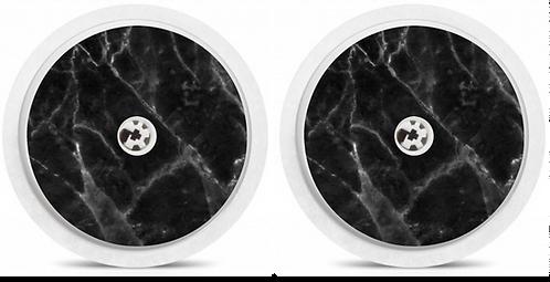 2 Capteurs Freestyle Libre - Marbre Noir