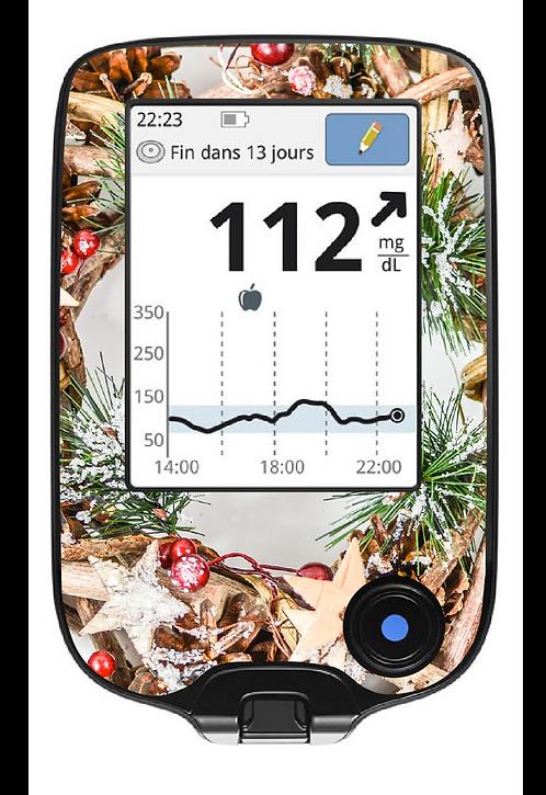 Freestyle Libre - Couronne de Noël