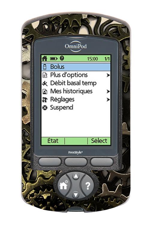 Omnipod PDM - Engrenages
