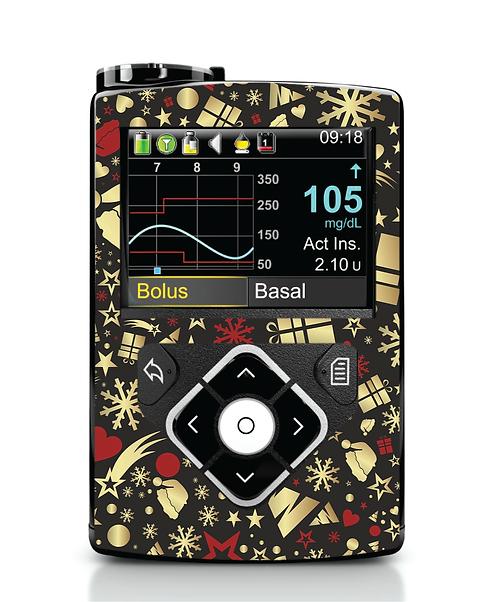 MiniMed 640G / 780G - Black & Gold