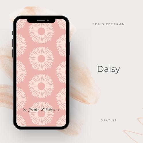 Fond d'écran téléphone - Daisy