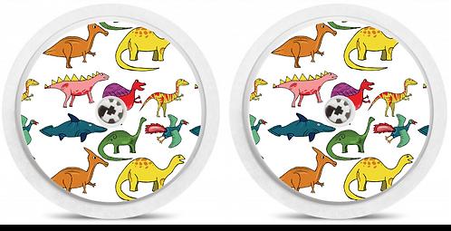 2 Capteurs Freestyle Libre - Dinosaures