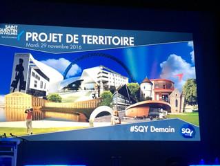 Saint Quentin en Yvelines : Lancement du projet de territoire