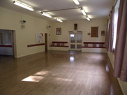 Hall looking towards entrance