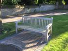 Exterior bench