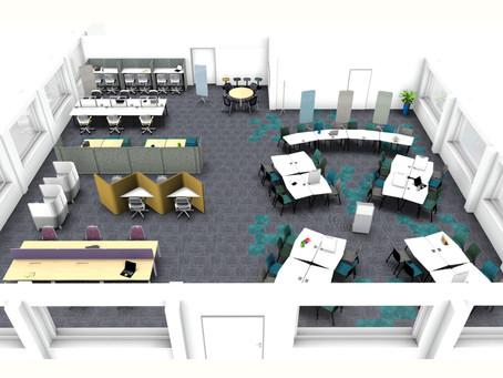 New Study Space at QMU