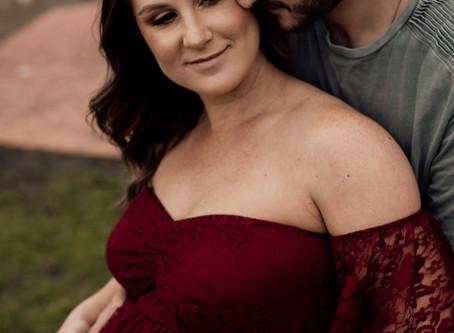 Kiara's Maternity Session - Emerald Bank, Shepparton