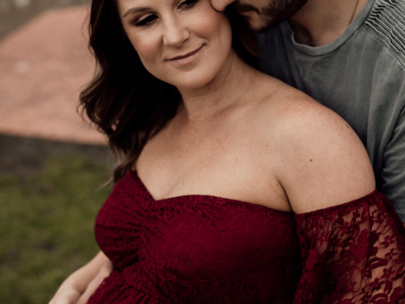 Kiara's Maternity Session - Emerald Bank, Shepparton