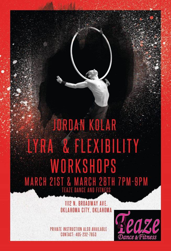 lyra and flex workshop teaze