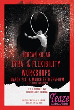 lyra and flex workshop teaze