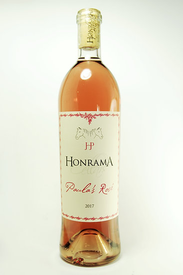 Paula's Rosé by Honrama Cellars, 2019