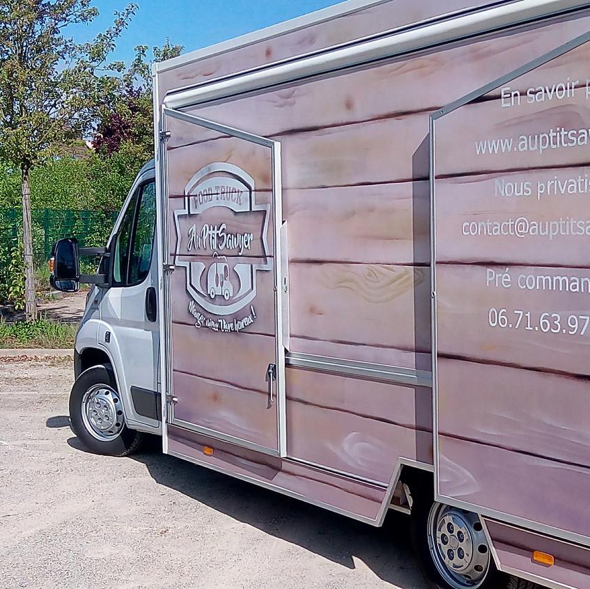 Camion Au P'tit Sawyer - peint (7)