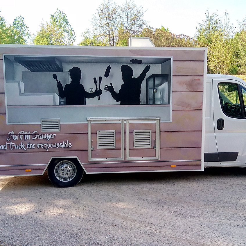 Camion Au P'tit Sawyer - peint (2)
