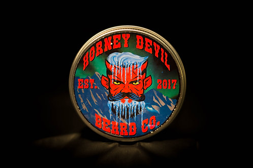 Horney Devil Premium Beard Balm 2oz -Frostbite