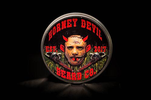 Horney Devil Premium Beard Balm 2oz - LEATHERFACE