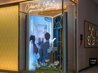 Adelle Jewelery - Wedding Theme Window display