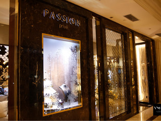 Passion Jewelry Christmas Window Display