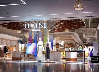 Visual Merchandising Display for Lumine JKT