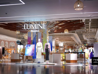 Visual Merchandising Display for Lumine JKT
