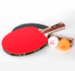 ping pong set 4 paddles and 8 balls