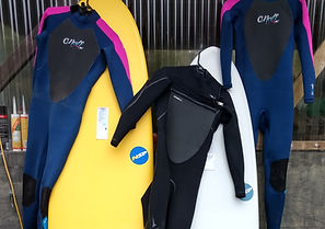 Surfboard and Wetsuit Hire and Rental at Piha