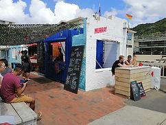 Murrays food at Piha Beach