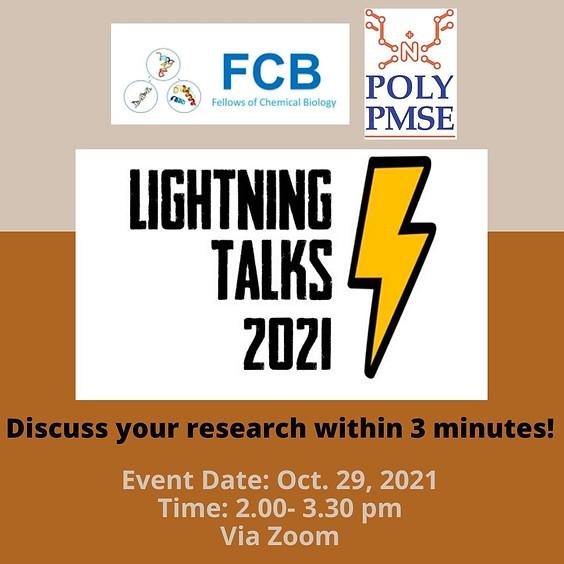 Fall 2021 Lightning Talks Competition