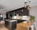 Bold, Black Kitchen Make-over