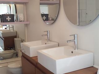 Maximizing Small Bathrooms