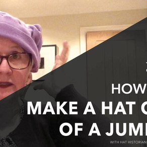 How to - Create a hat from a jumper