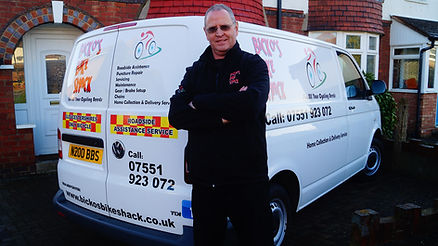 Nigel Bicknell, Bickos Bike Shack owner